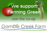 We support Gamble Creek Farm in Parrish, Florida
